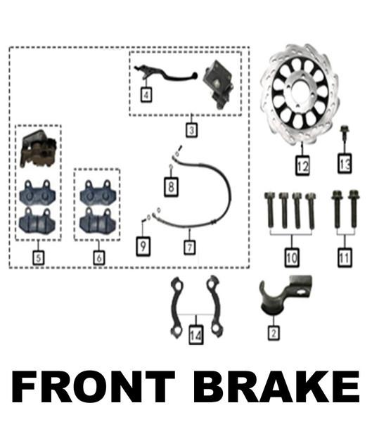Front Brake Line