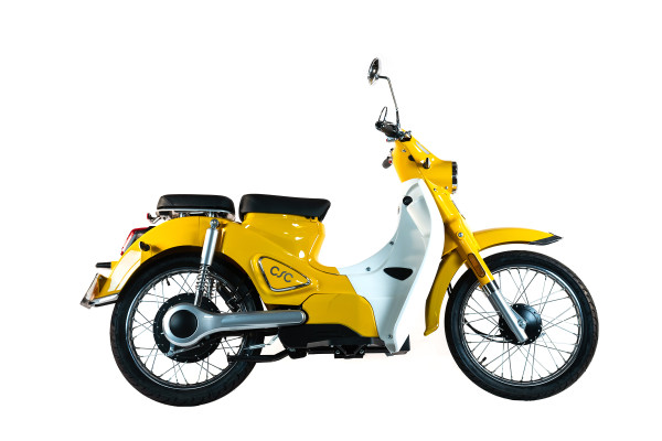 CSC Monterey Electric Scooter - Yellow PRE-ORDER