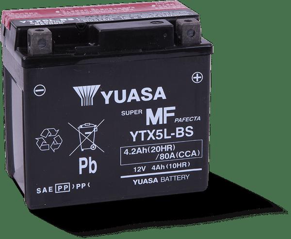 Battery, YTX5L-BS Maintenance Free,  12 Volt, FITS TT250