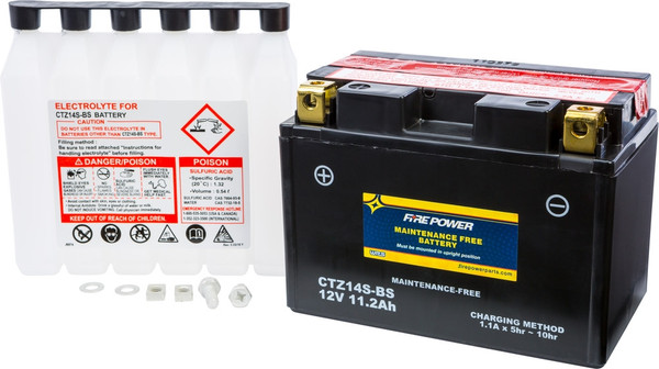 CTZ14S-BS MAINTENANCE FREE - RX3 & RX4 Replacement