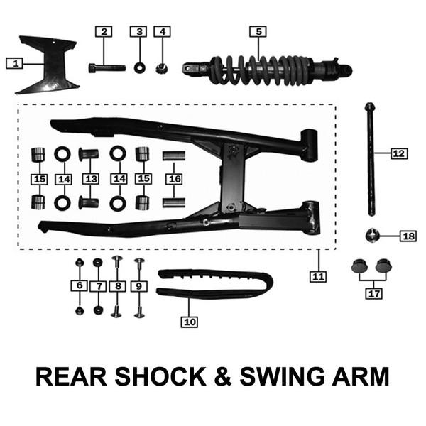 SWING ARM ASSY