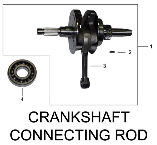 CRANKSHAFT CONNECTING-ROD ASSY