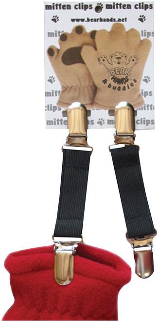 MITTEN CLIPS BLACK