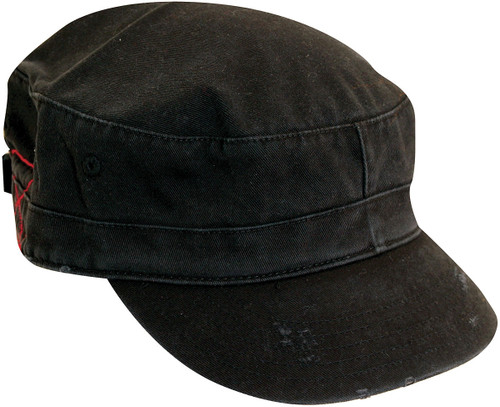 WASHED TWILL CADET HAT ASST
