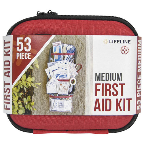 HRD SHLL FIRST AID KIT MD 53PC