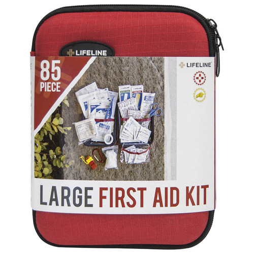 HRD SHLL FIRST AID KIT LG 85PC