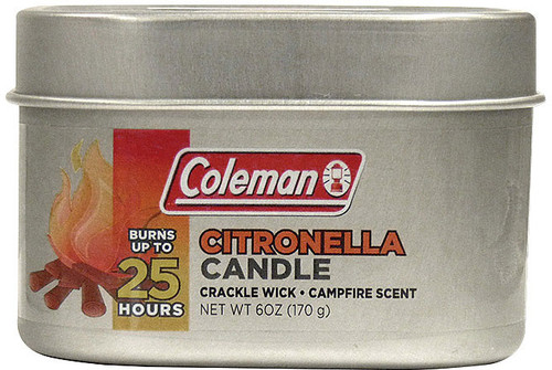 COLEMAN CITRONELLA TIN CAMPFIR