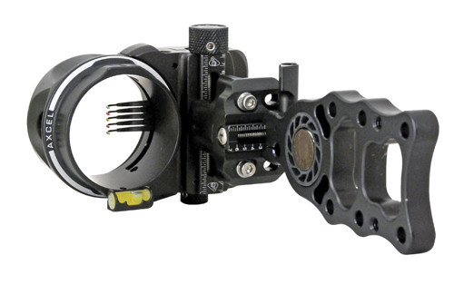Axcel Hntng Sght Armortech 5 Pin .010 Black