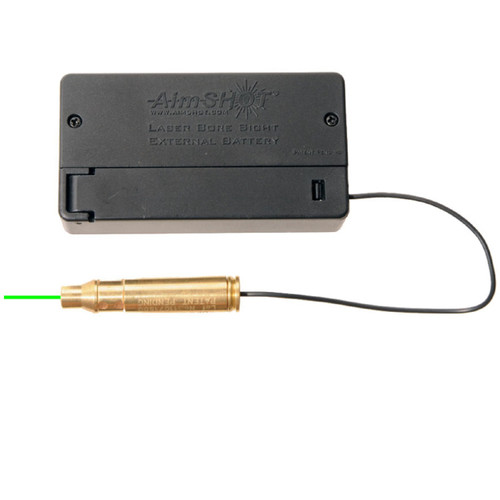 AimSHOT BSB223G Green Laser Bore Sight .223 w/ Battery Box