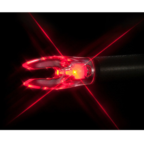 Nockturnal FIT Universal Size Red Lighted Nock