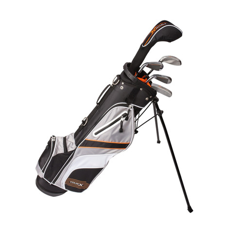 Tour X Size 3 5pc Jr Golf Set w/Stand Bag