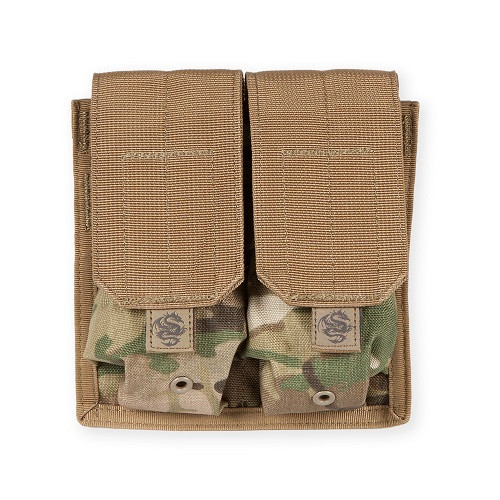 Tacprogear Double Rifle Mag Pouch Multicam