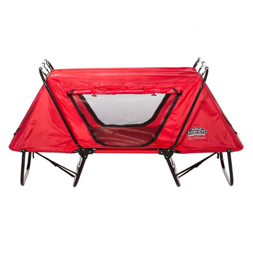 Kamp-Rite Kid Cot with Rain Fly - Red