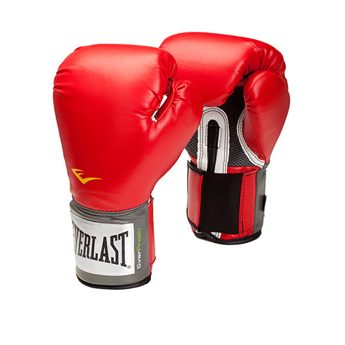 Everlast Pro Style Training Gloves 14 oz Red