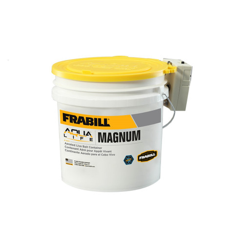 Frabill Magnum Bucket 4.25 Gallons with Aerator