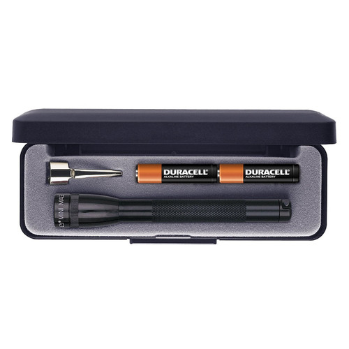 Maglite Presentation Box AAA Mini Flashlight, Black