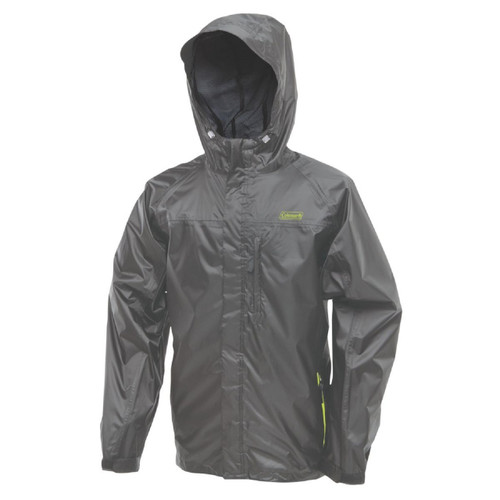 Coleman Rainwear Danum Jacket Grey/Green 2X-Large