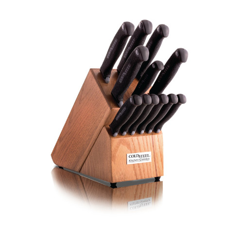 Cold Steel Kitchen Classics 12 Piece Whole Knife Set