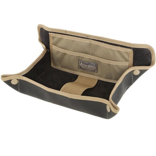 "Maxpedition Tactical Travel Tray Khaki 12.5"" L x 11"" H"