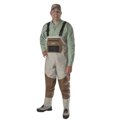 Caddis Men's Deluxe Breathable Stockingfoot Waders - Small