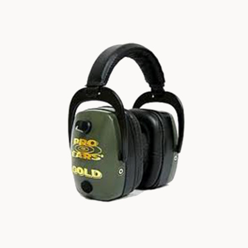 Pro Ears Pro Mag Gold Series Ear Muffs Green GS-DPM-G