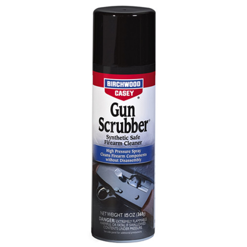 Birchwood Casey Gun Scrubber Firearms Cleaner 15 oz Aerosol
