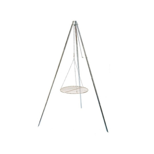Coleman Tripod Grill And Lantern Hanger Silver 2000016537