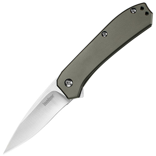 Kershaw Amplitude Assisted 2.5 in. Plainedge Stainless