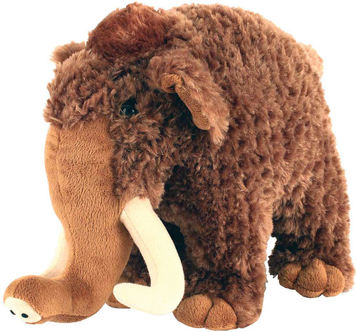 "9"" WOOLLY MAMMOTH PLUSH"