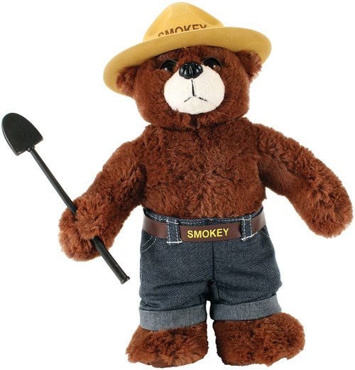 "12"" SMOKEY BEAR PLUSH"