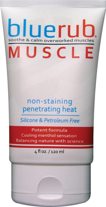 BLUERUB MUSCLE RUB 4 OZ TUBE
