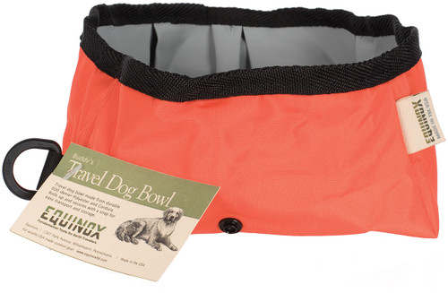 BUDDY'S TRAVEL BOWL ORANGE