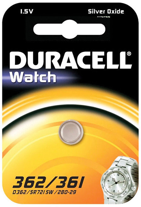 DURACELL COIN BATTERY 362/361