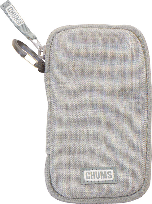 CHUMS TECH WALLET GRAY