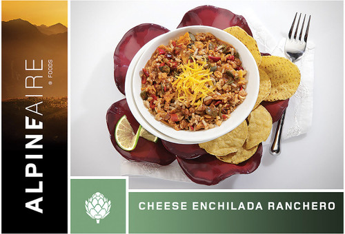 CHEESE ENCHILADA RANCHERO
