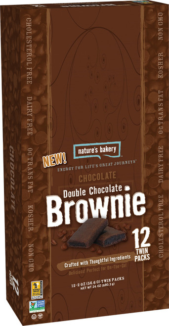 NATURE'S BAKERY BROWNIE D.CHOC