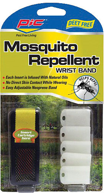 PIC MOSQUITO REPEL WRIST BAND