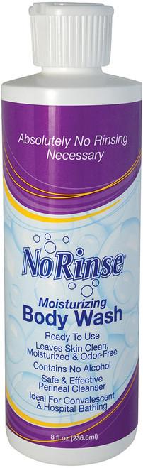 NO-RINSE BODY WASH 8 OZ