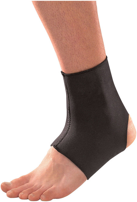 ANKLE BRACE NEOPRENE BLK MD
