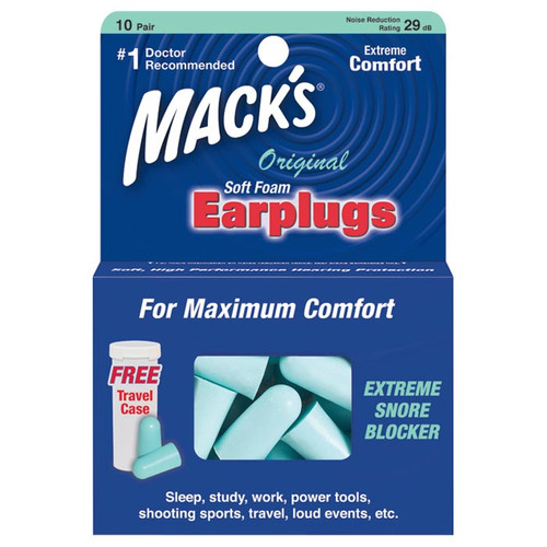 MACK'S ORIGINAL EARPLUGS 10PR