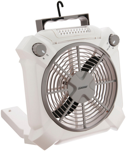 3-IN-1 FAN W/ UTILITY LIGHT