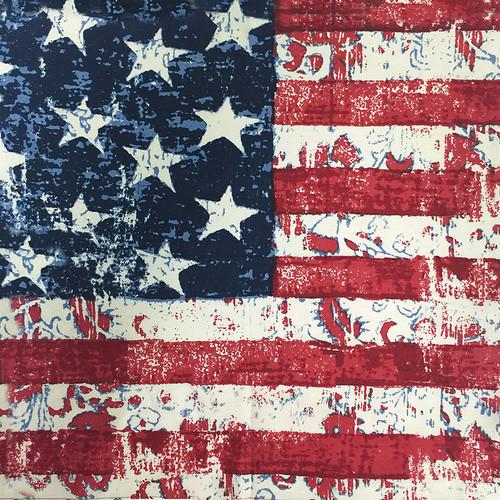 US FLAG BATIK