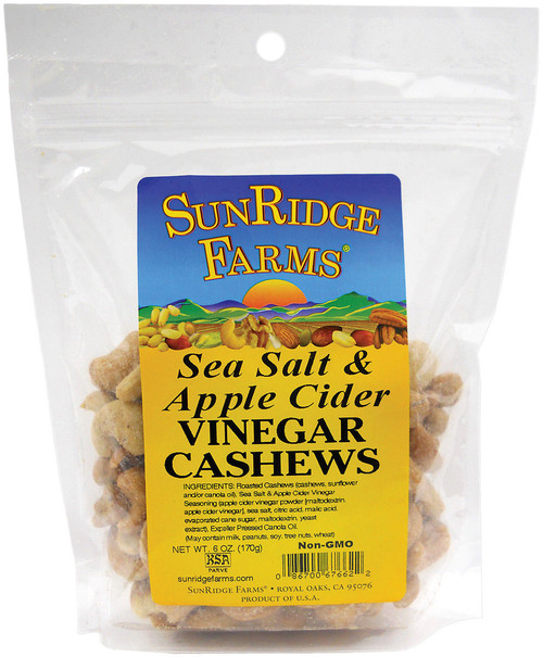 CASHEWS SEA SALT/APPLE VINEGAR