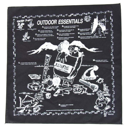 BANDANA OUTDOOR ESSENTIAL ASST