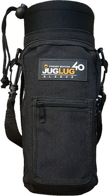 JUGLUG W/POCKET 40 OZ. BLACK