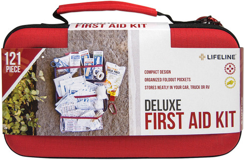 HRDSHLL FIRSTAID KIT DLX 121PC