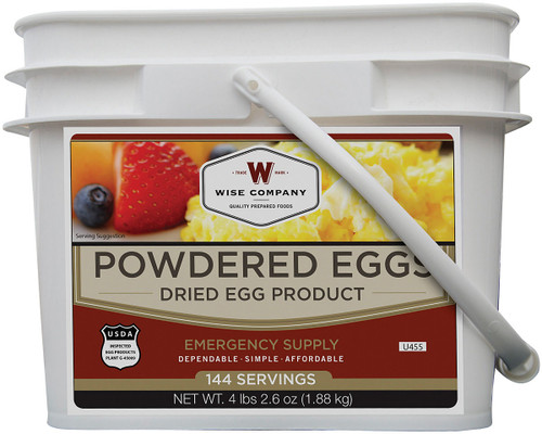WISE POWDERED EGGS 144 SERVING