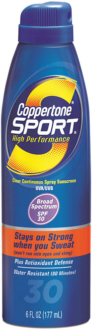 COPPERTONE SPORT C-SPRAY SPF30