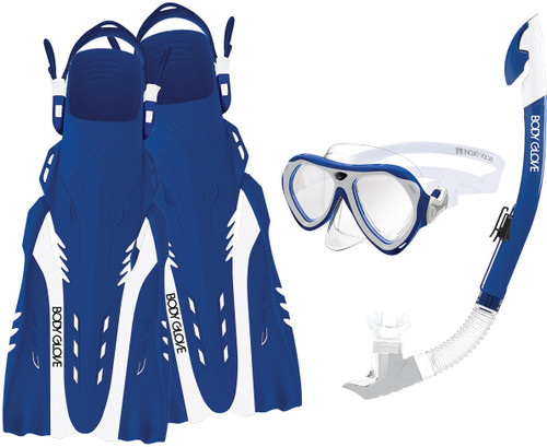 WOMENS ARUBA SET BLUE/WHITE