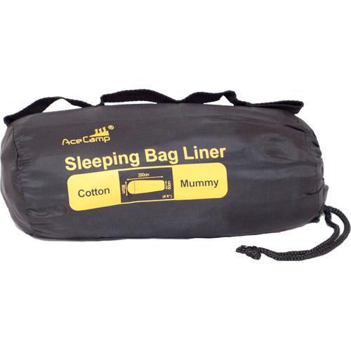 COTTON SLEEPING BAG LINER MUM